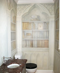 Library Powder Room